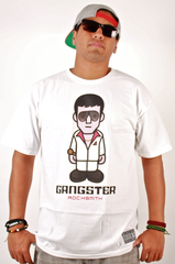 Gangster T-Shirt Rocksmith White