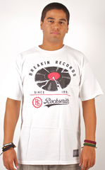 Breakin Records T-Shirt Rocksmith White