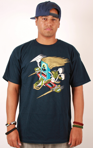 Planes T-Shirt Benny Gold Blue