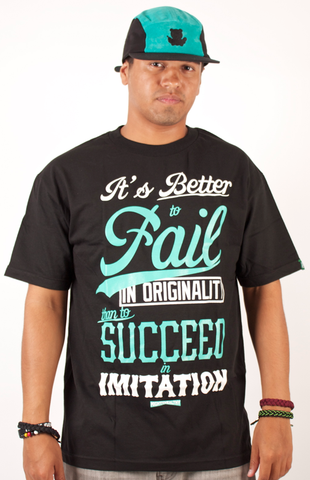 Originality T-Shirt Mighty Healthy Black