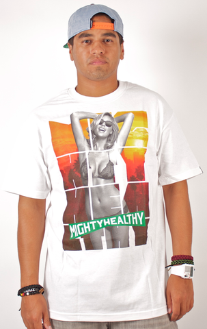 Dreamer T-Shirt Mighty Healthy White