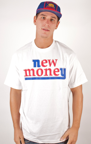 New Money T-Shirt People's Champ White