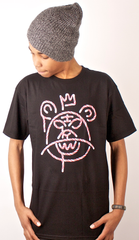 Candy Cane Mop T-Shirt Mishka Black