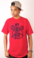 Bear Mop T-Shirt Mishka Red