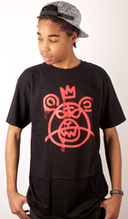 Bear Mop T-Shirt Mishka Black