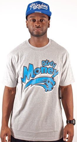 Dirty Money T-Shirt People's Champ Gray