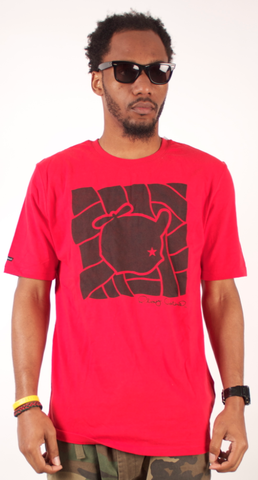 Puzzle T-Shirt Play Cloths Red