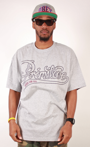 Good For Life T-Shirt Primitive Gray