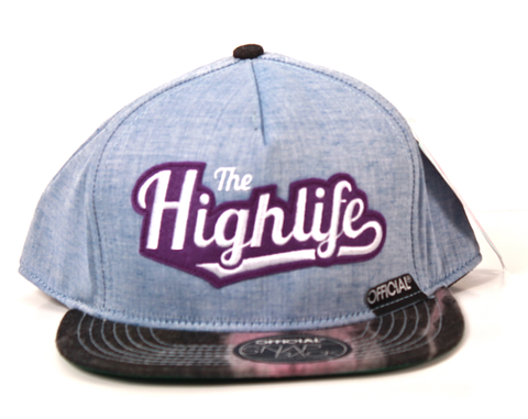 Highlife Trip-Out Snapback Official Chambray/Black