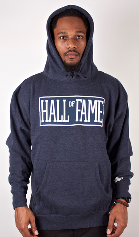 Logo Hoodie Hall of Fame Navy Blue