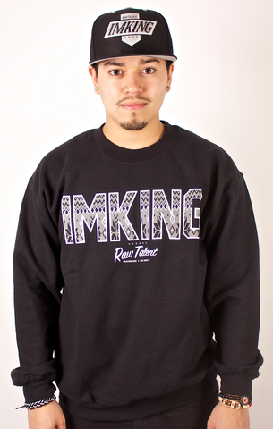 Trademark Crewneck IMKING Black