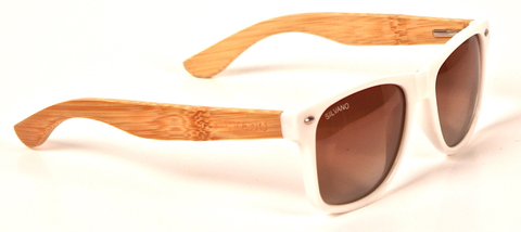 Carpentier Sunglasses Silvano White/Gray Fade