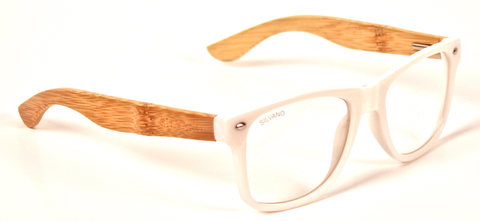 Carpentier Sunglasses Silvano White/Clear