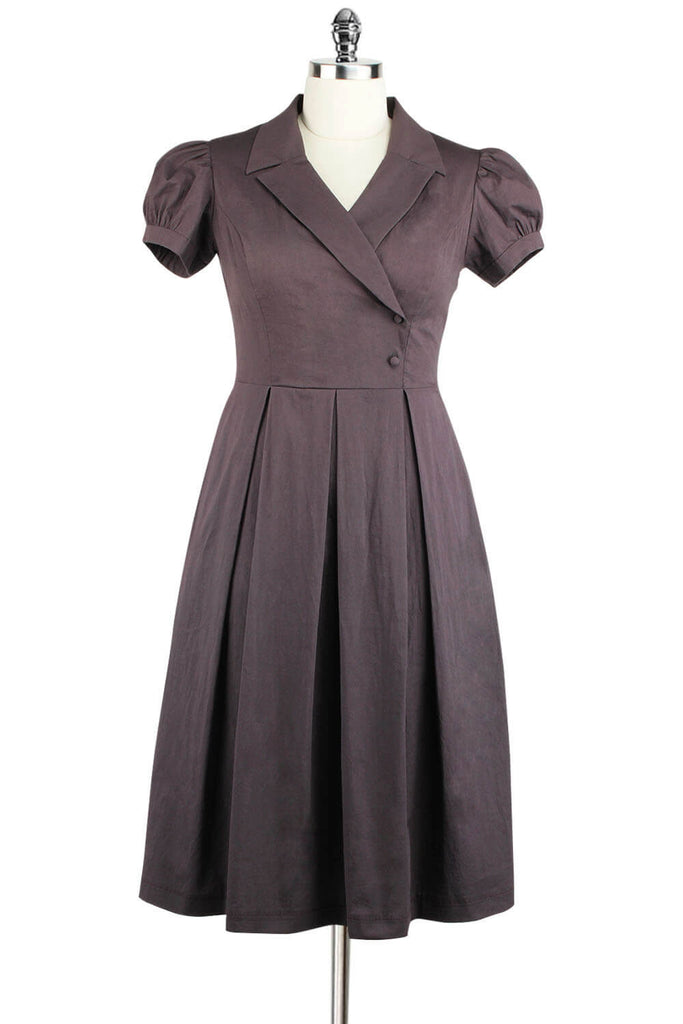 Elyzza London Plus Size 1950s Cotton Dress