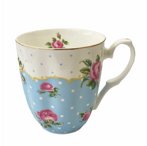Fine bone china tea mug