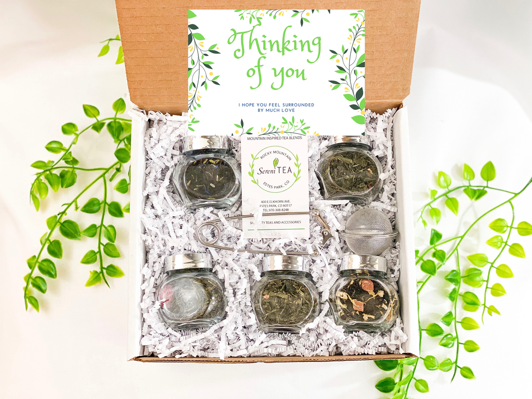 Thinking of you / Care package - Personalized message