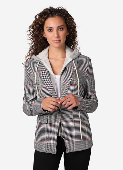 Venice Glenn Plaid Blazer - Central Park West