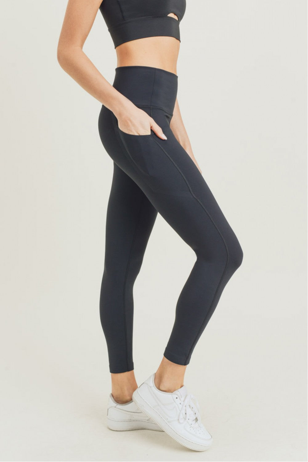 Laser Cut Essential Foldover Highwaist Legging