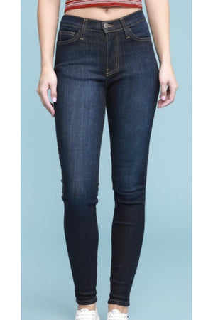 Judy Blue Dark High Waist Skinny Jean