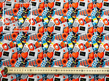 Elliot Woven Digital Print Fabric