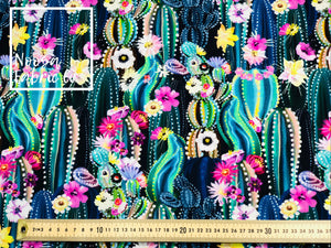Giselle Cotton Lycra Digital Print Fabric