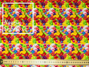 Allen Woven Digital Print Fabric