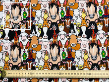 Gus Cotton Lycra Digital Print Fabric