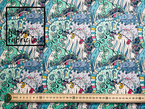 Paige Woven Digital Print Fabric