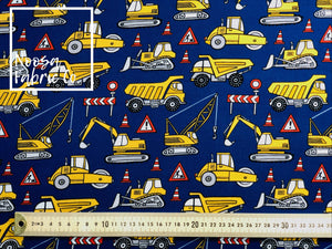 Thomas Cotton Lycra Digital Print Fabric