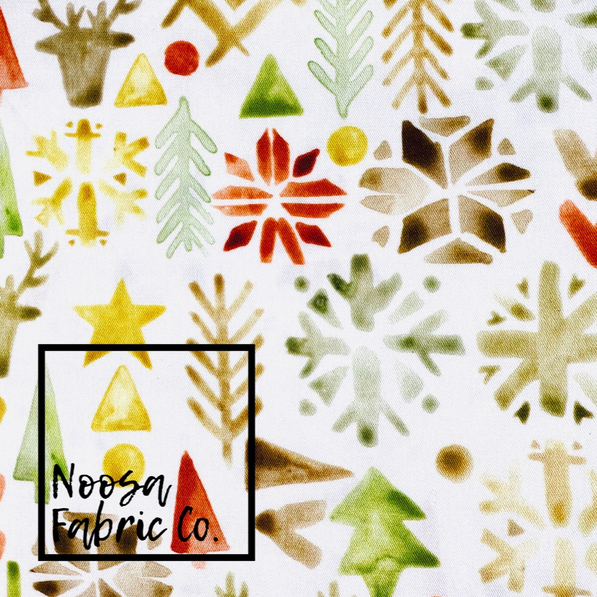 Tannon Christmas Woven Digital Print Fabric