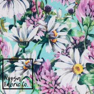 Daizy Cotton Lycra Digital Print Fabric