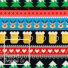 Declan Christmas Woven Digital Print Fabric