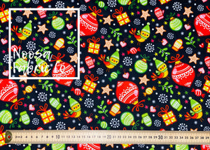 Cullen Christmas Woven Digital Print Fabric