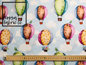 Hot Air Balloon Childrens Nursery Fabric