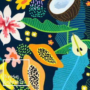 Isla Cotton Lycra Digital Print Fabric