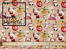 Balthazar Christmas Woven Digital Print Fabric
