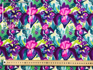 Nina Woven Digital Print Fabric