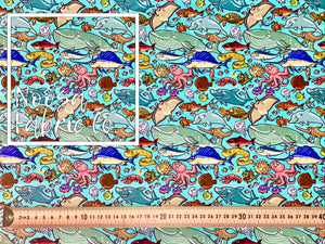 Mortimer SMALL SCALE Woven Digital Print Fabric
