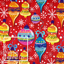Belle Christmas Woven Digital Print Fabric