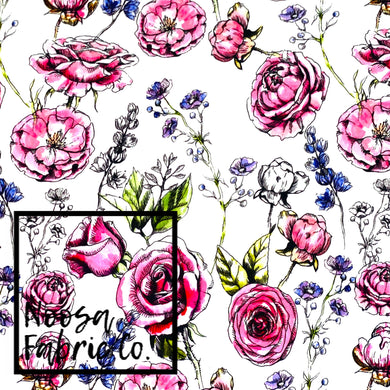 Nikki Cotton Lycra Digital Print Fabric