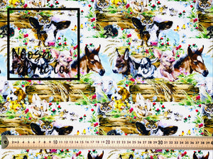 Marjorie Woven Digital Print Fabric