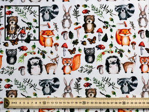 Chester Cotton Lycra Digital Print Fabric