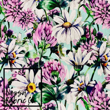 Daizy Woven Digital Print Fabric