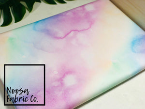 Aria Rainbow 'Tye Dye' Fabric