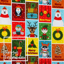 Neige Christmas Woven Digital Print Fabric