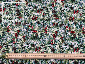 Holly Woven Digital Print Fabric