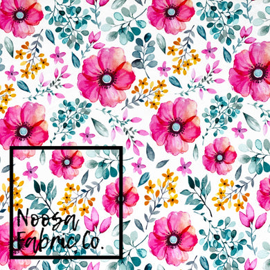 Karen Cotton Lycra Digital Print Fabric