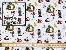 Marcus Christmas Woven Digital Print Fabric