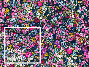 Rayner Cotton Lycra Digital Print Fabric