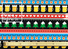 Christmas 7 Woven Digital Print Fabric